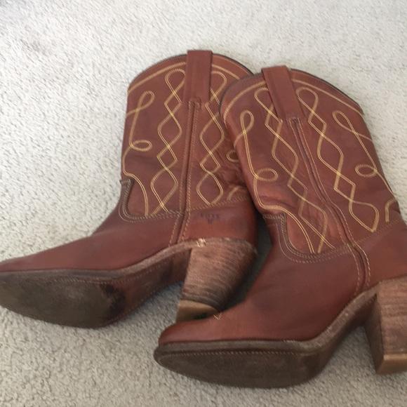 5c636f2de9a Vintage Frye Cowboy Western Boots Size 6